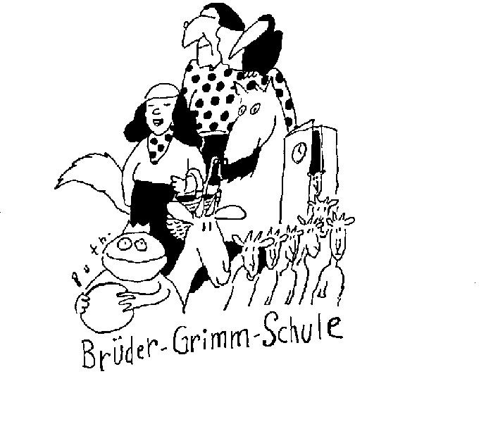 Brüder Grimm Schule Logo